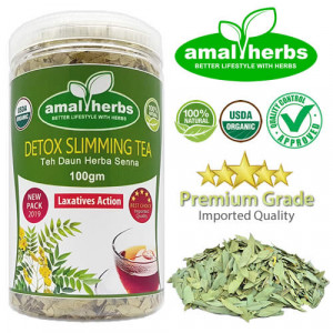 Senna Sanna Tea Leaf 100gm Slimming Tea Detox