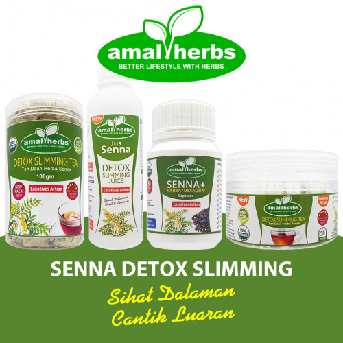 Teh Daun Senna 100gm Slimming Tea Detox