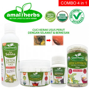 Senna Super Combo 4 in 1 Sanna Detox Slimming